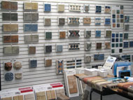 Showroom Tile Sample Wall