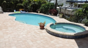 Custom Freeform Pool and Spa