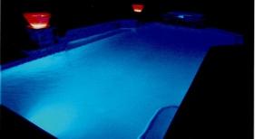 Pool with LED Lighting
